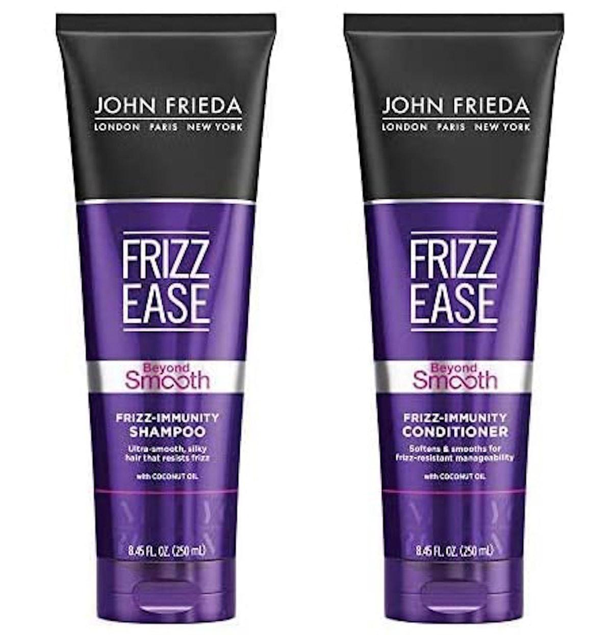 John Frieda Frizz Ease Beyond Smooth Frizz-Immunity Shampoo & Conditioner