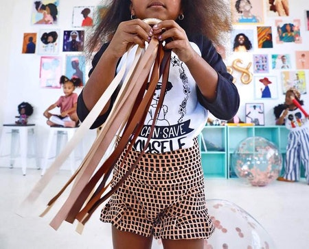 Melanin Magic Ribbon Wands