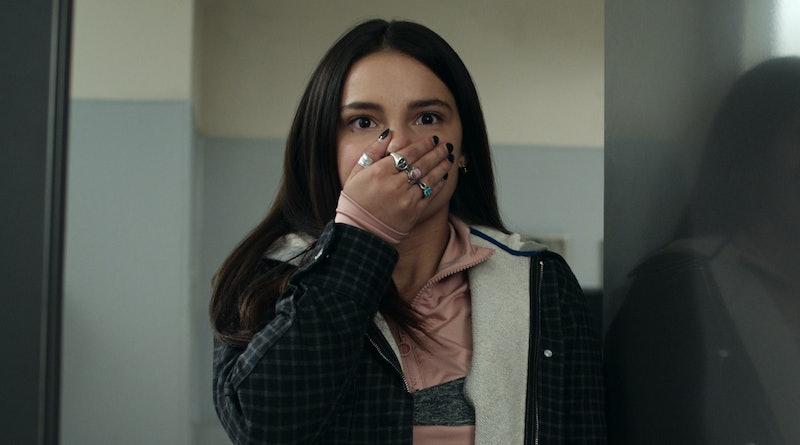INDE NAVARRETTE as ESTELA DE LA CRUZ in '13 REASONS WHY' Season 4 via press site