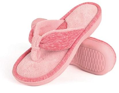Wishcotton Memory Foam Flip Flop Slippers