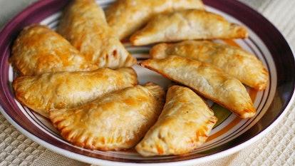 Pillsbury's empanada recipe is perfect for your premade pie crust.