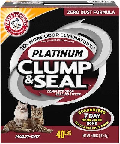 ARM & HAMMER Clump & Seal Platinum Cat Litter (40 pounds)