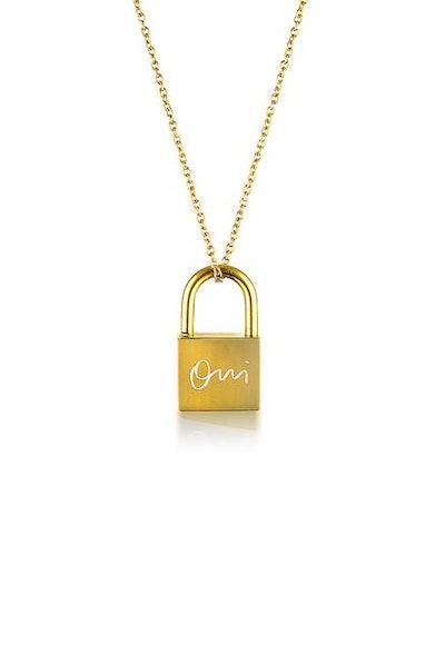 Oui Lock Necklace