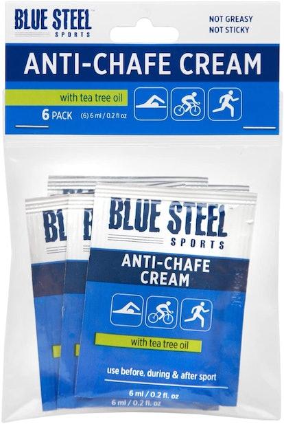 Blue Steel Sports Anti-Chafe Cream Singles (6-Pack)