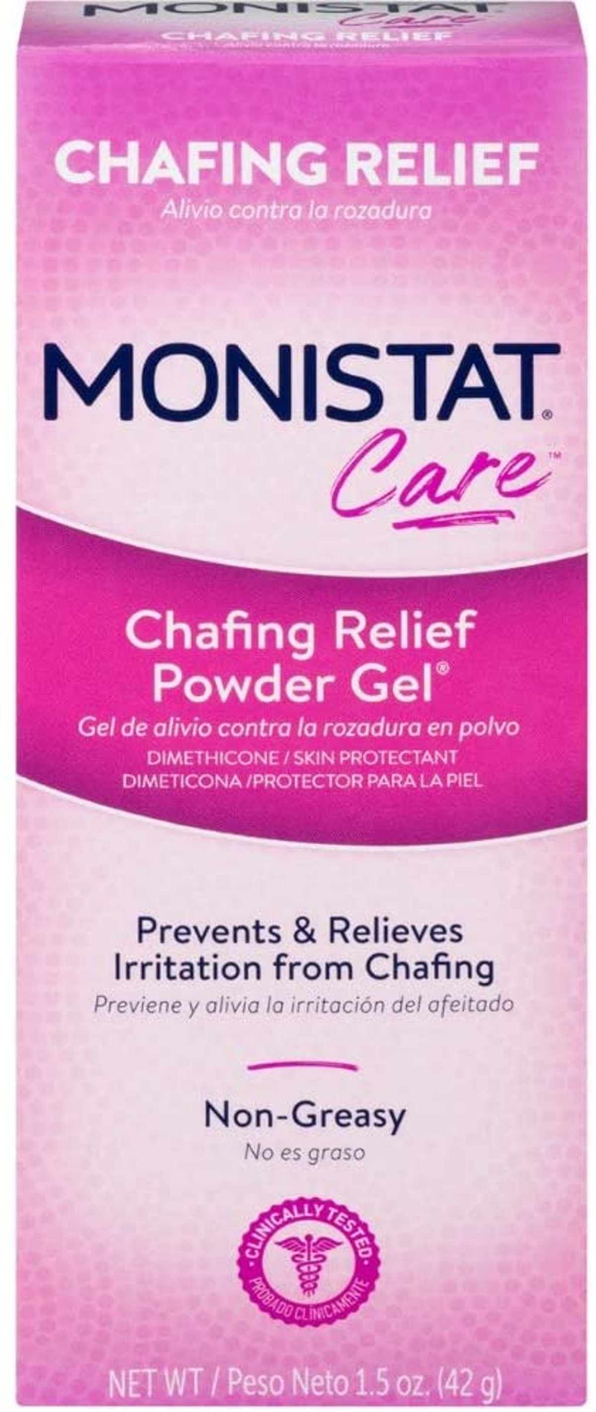 Monistat Care Chafing Relief Powder Gel