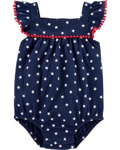 4th Of July Sunsuit