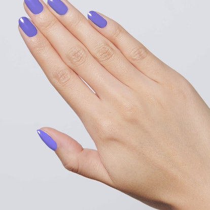 Bold & Unshaken is a bright purple shade from the brand.