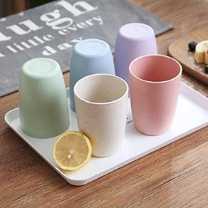 Choary Unbreakable Reusable Drinking Cups (5-Pack)