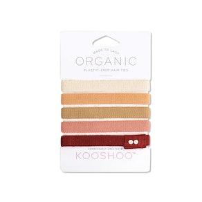 KOOSHOO Biodegradeble Hair Ties (5-Pack)
