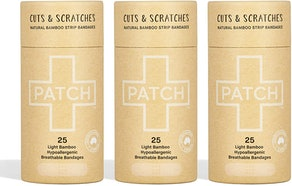 PATCH Organic Bamboo Bandage Strips