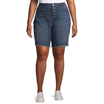 Terra and Sky Women's Plus Size Bermuda Short
