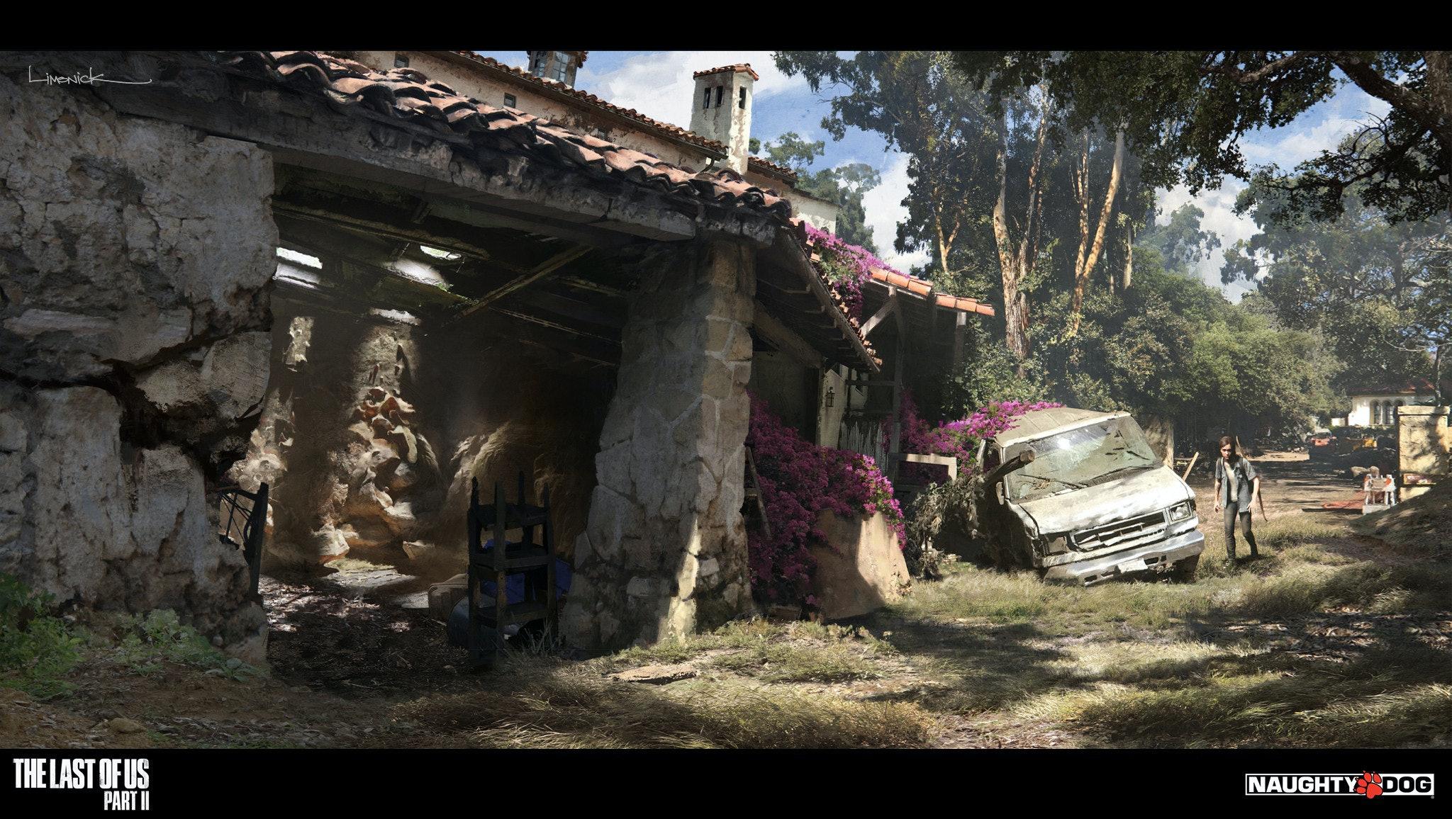 Last Of Us 2 Concept Art Perfectly Captures Ellie S Bloody Revenge Quest