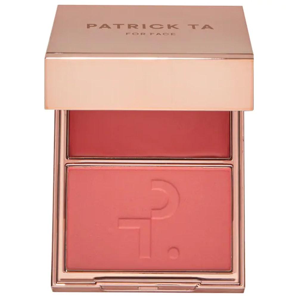 Patrick Ta Major Beauty Headlines Double-Take Crème & Powder Blush