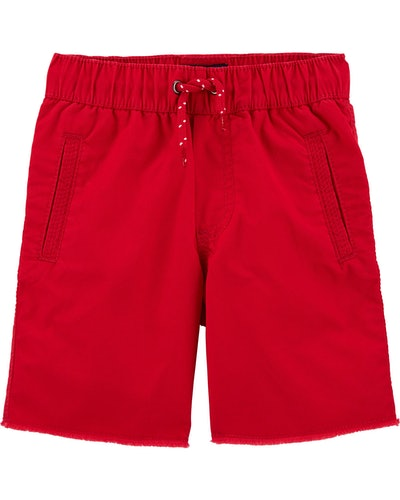 Pull-On Camp Shorts