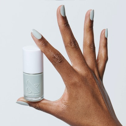 KMC is a light mint color that's also one of the brand's top 10 shades.