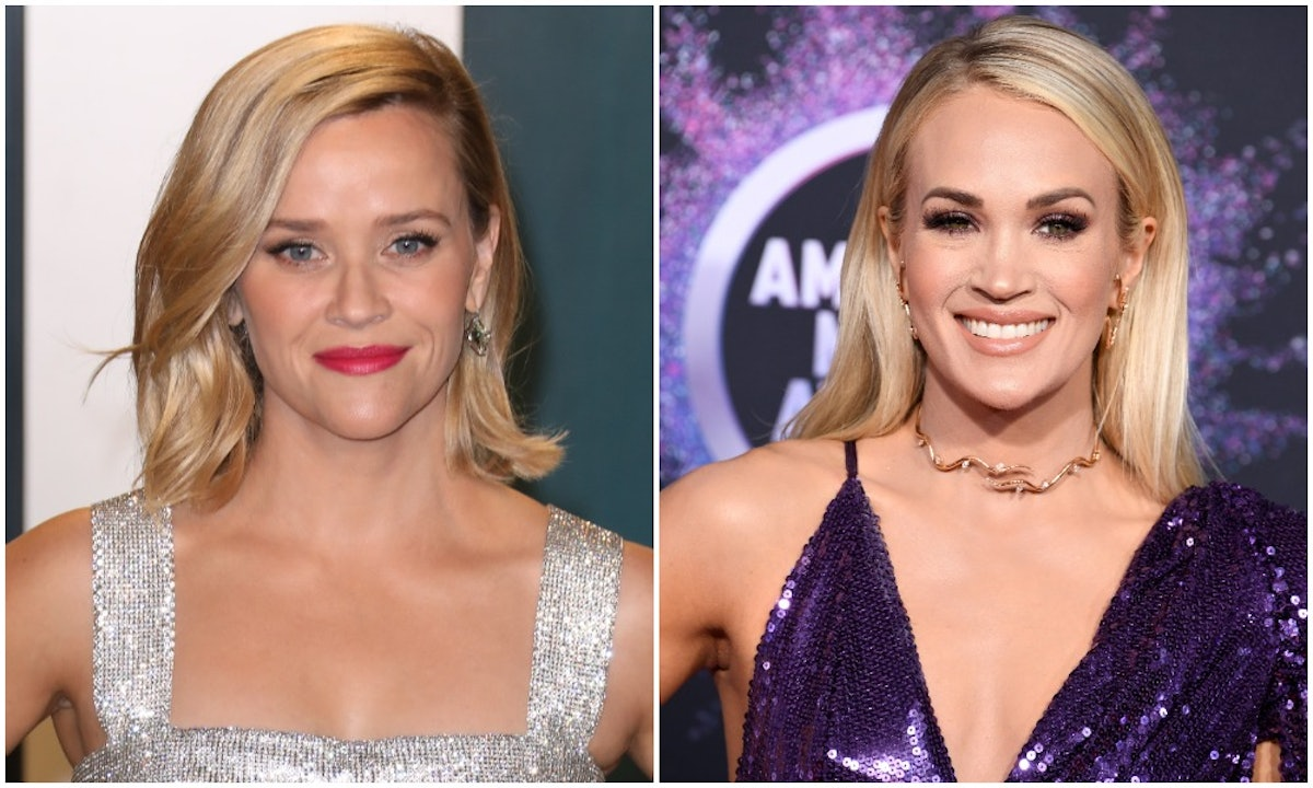 Reese Witherspoon was mistaken for Carrie Underwood by a fan.