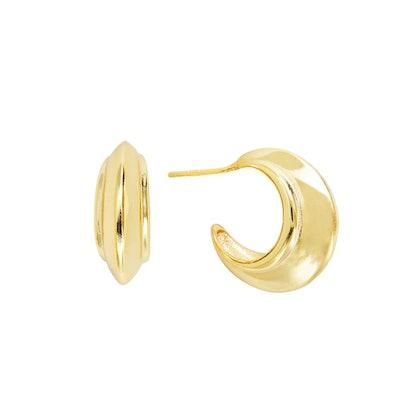 Armure Huggie Hoop Earrings