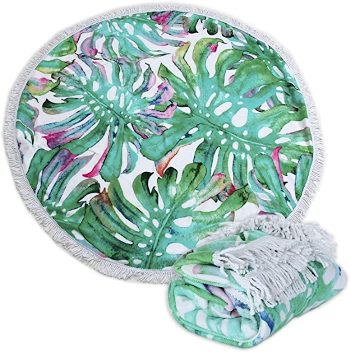 Polly House Large Round Picnic Mat