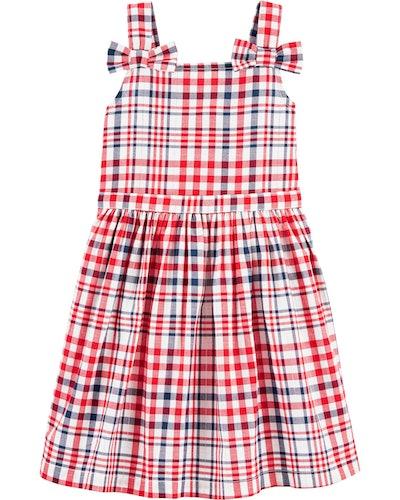 Plaid Tank Dress