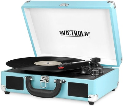 Victrola Vintage Portable Suitcase Record Player