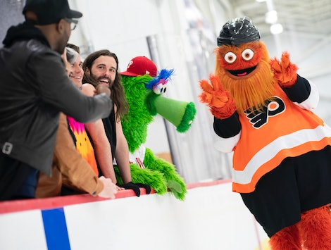 This Bonus 'Queer Eye' Episode Has The Fab Five Making Over A Mascot