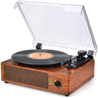 WOCKODER Record Player Turntable
