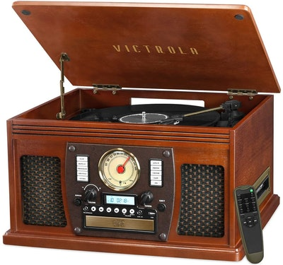Victrola Navigator Record Player & Multimedia Center