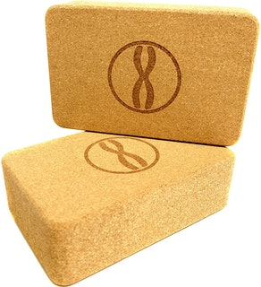 Heala Fit Cork Yoga Blocks (2-Pack)