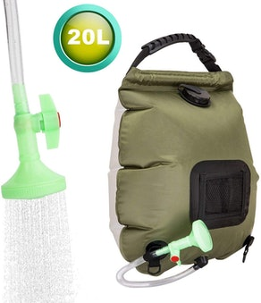 FeChiX Solar Powered Shower Bag