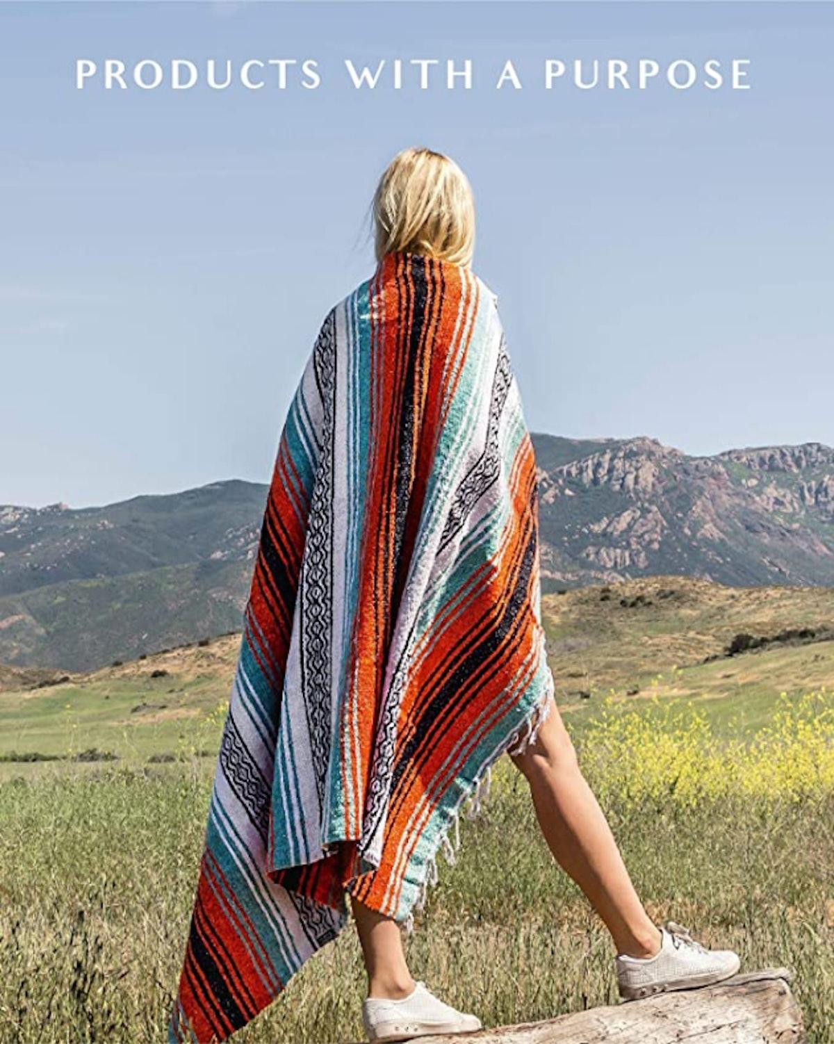 Benevolence LA Mexican Blanket