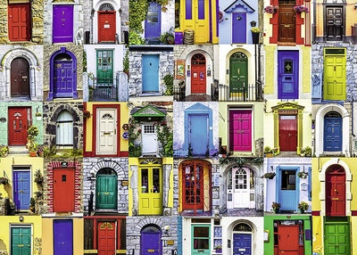 Ravensburger Doors of the World Puzzle