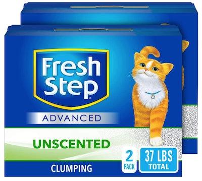 Fresh Step Advanced Clumping Cat Litter (37 Pounds)