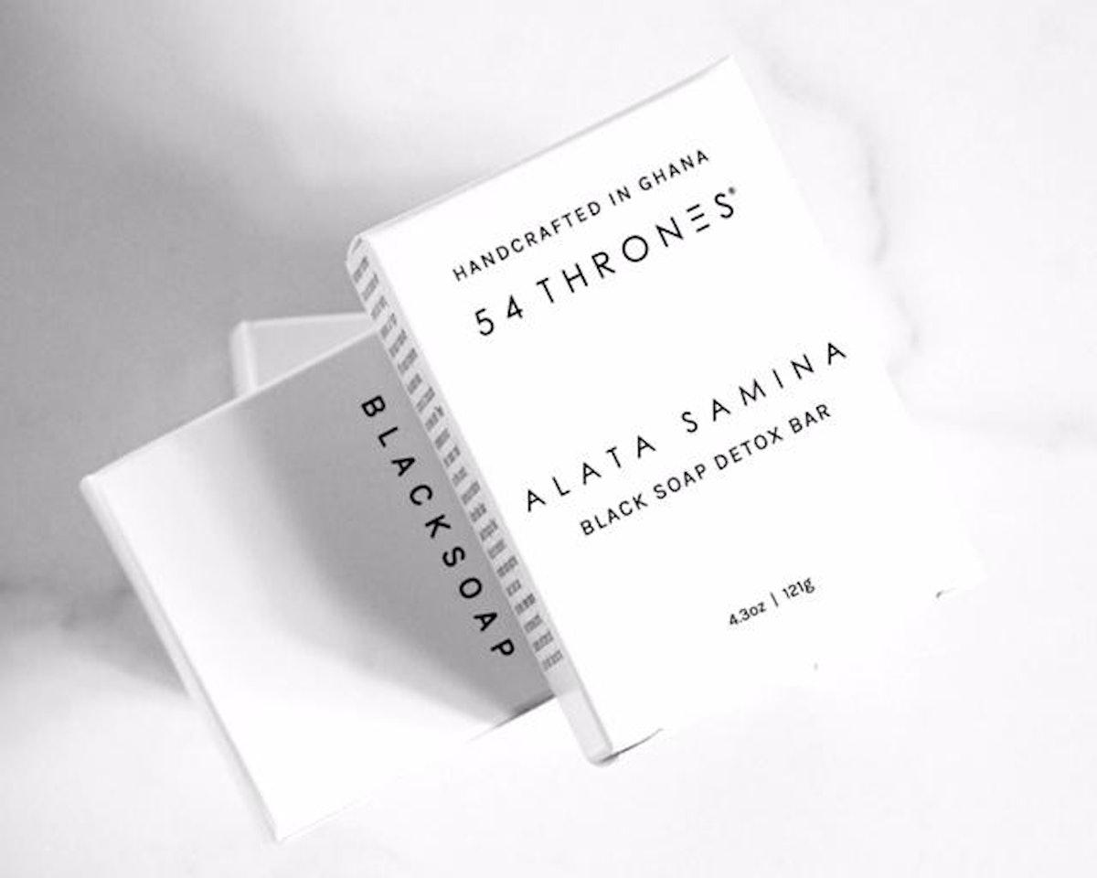 ALATA SAMINA: Black Soap Detox Bar