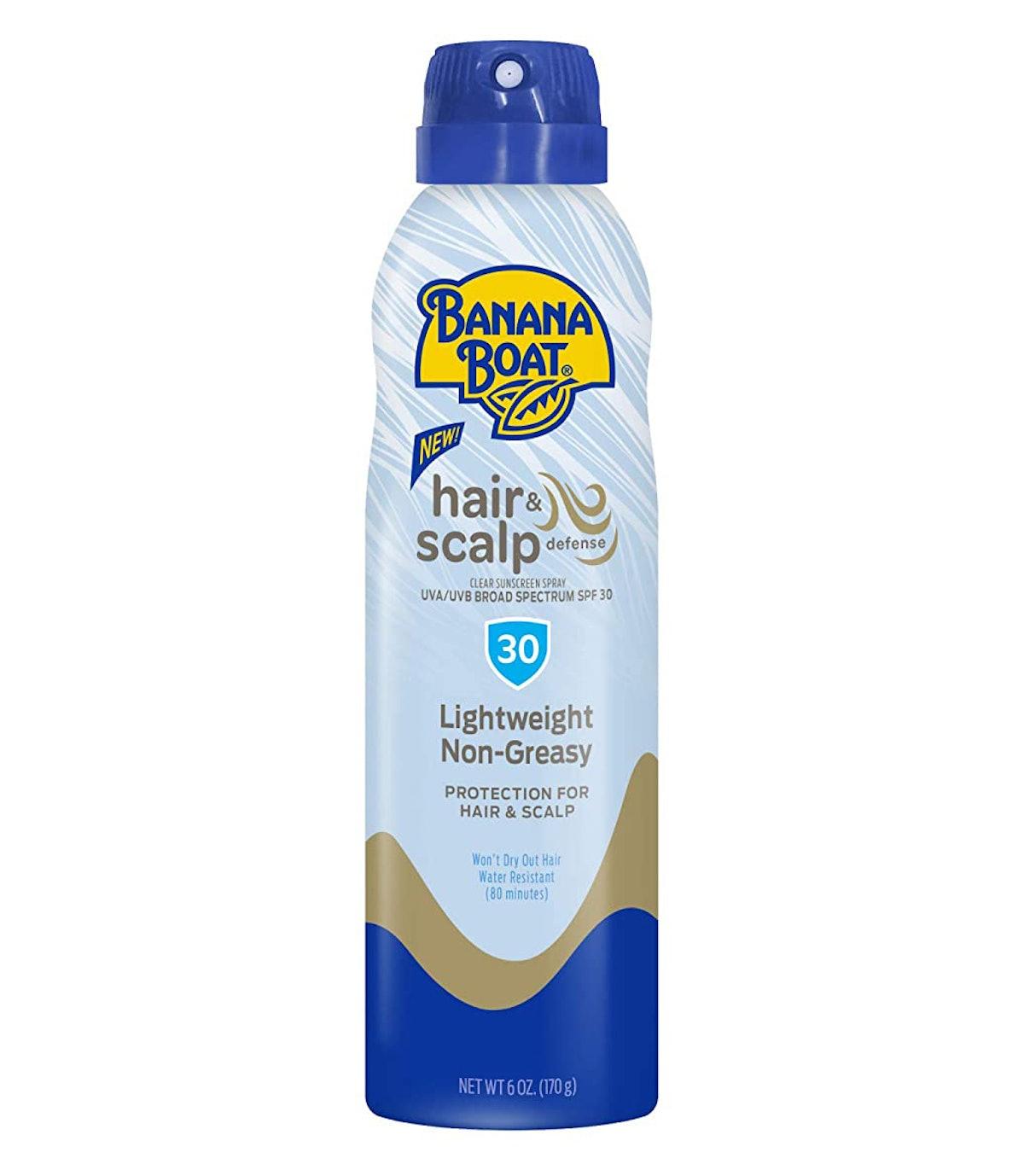 Banana Boat Hair & Scalp Defense Sunscreen Spray