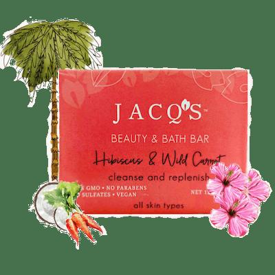 Wild Hibiscus & Carrot Cleansing Bar