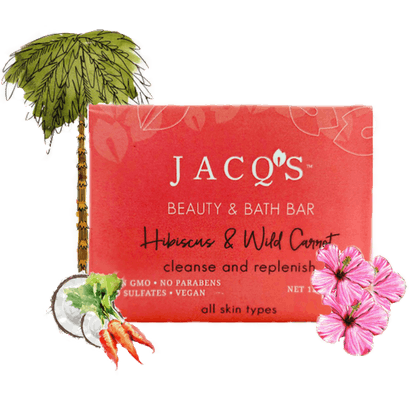 Wild Hibiscus & Carrot Cleansing Bar