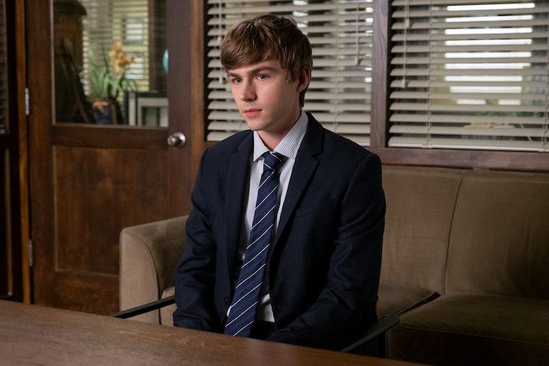 Alex and Charlie begin a romance in 13 Reasons Why season 4. Via Netflix press site.