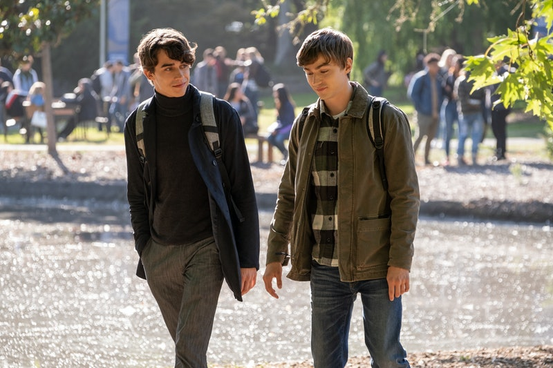 Winston and Alex on 13 Reasons Why via the Netflix press site