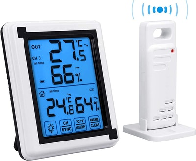 Auing Indoor Outdoor Thermometer