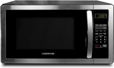Farberware Stainless Steel Countertop Microwave Oven (1.1 Cubic Feet)