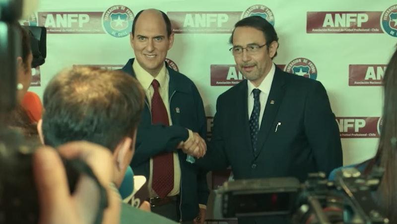 Sergio Jadue (Andrés Parra) in 'El Presidente' Season 1
