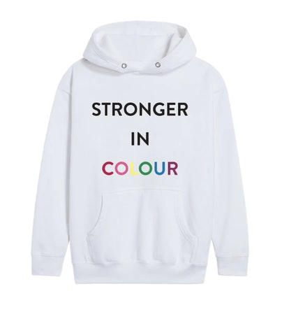 STRONGER IN COLOUR HOODIE