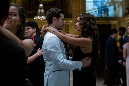 Alisha Boe and Brandon Flynn in 13 Reasons Why Season 4, via Netflix press site.