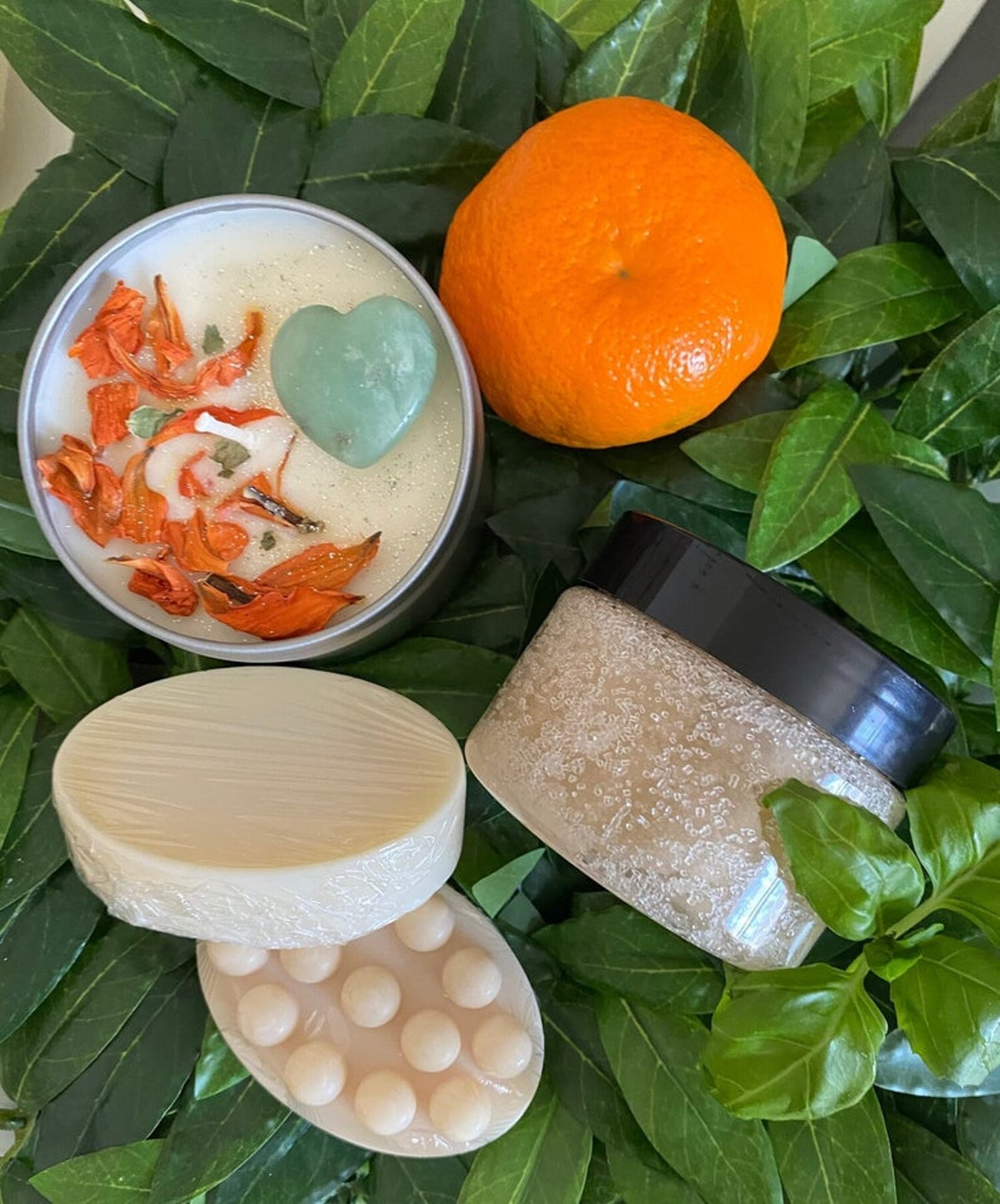 SimplyGVO Self-Care Spa Bundle | Watermint and Clementine