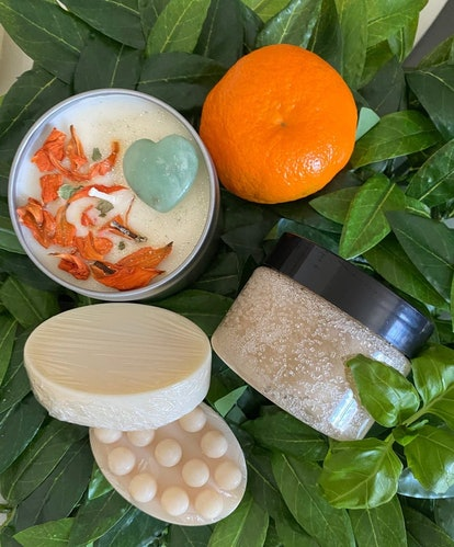 SimplyGVO Self-Care Spa Bundle   Watermint and Clementine