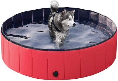 Yaheetech Dog Swimming Pool