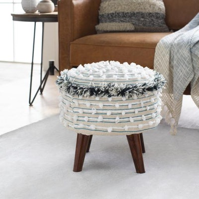 Snow Fringe Stool