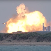 """SpaceX Starship: how a staggering explosion sent """"SN4"""" plans up in flames"""