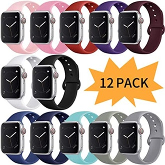 Bravely Klimbing Compatible With Apple Watch Band (12 Pack)