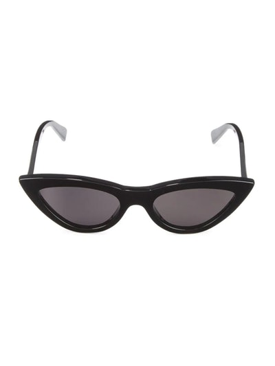 56MM Exaggerated Cat Eye Sunglasses